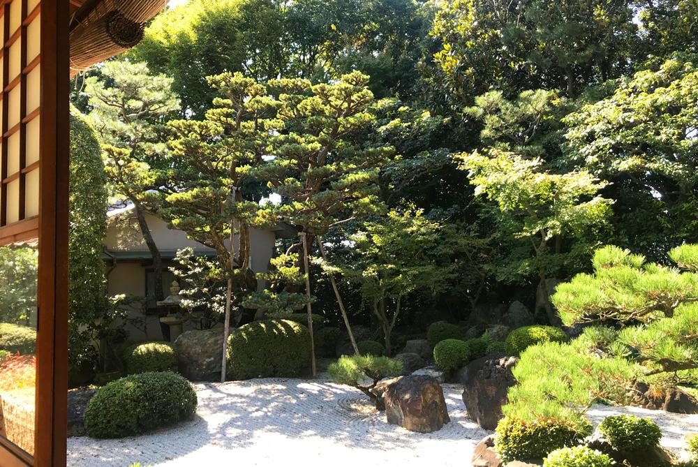 御香宮神社、小堀遠州ゆかりの石庭