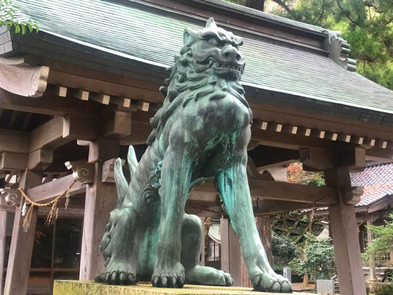 金剣宮の狛犬