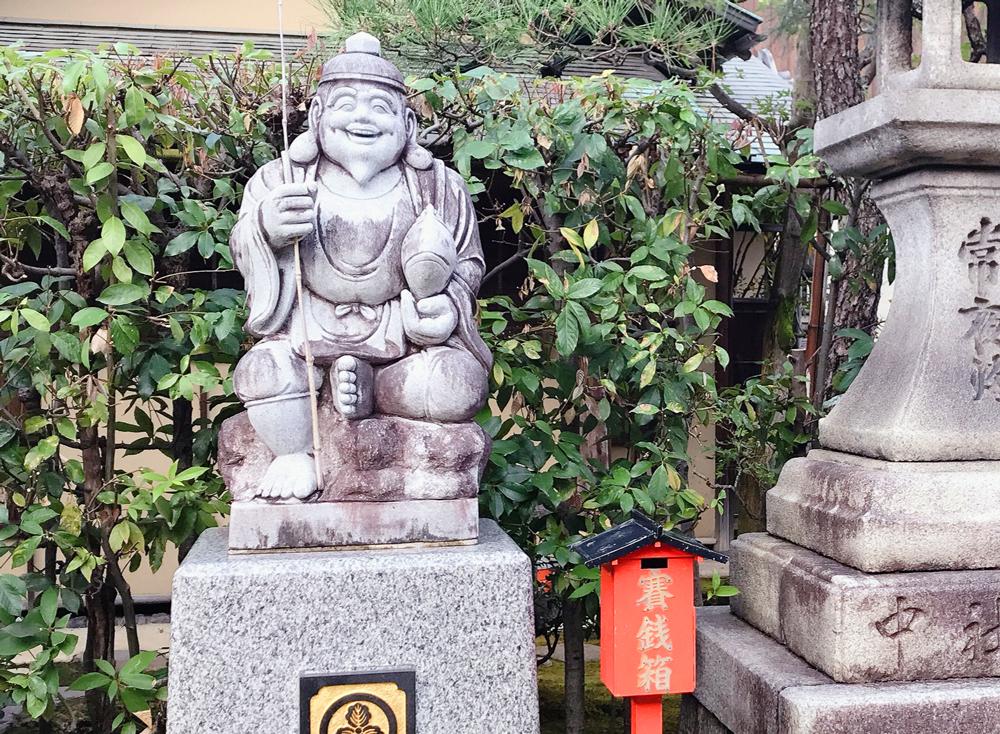 京都えびす神社の寄進えびす様
