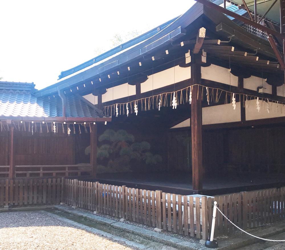 御香宮神社の能舞台
