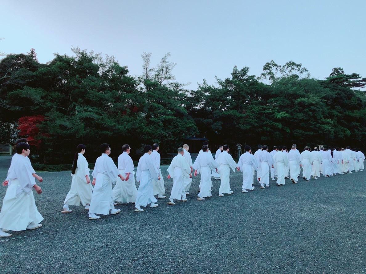 伊勢神宮の神職の出勤