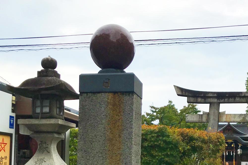 晴明神社の太陽のモチーフ