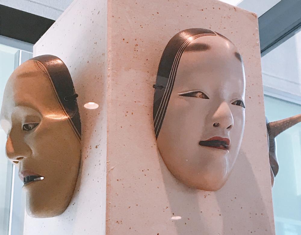 金沢能楽美術館の展示・能面