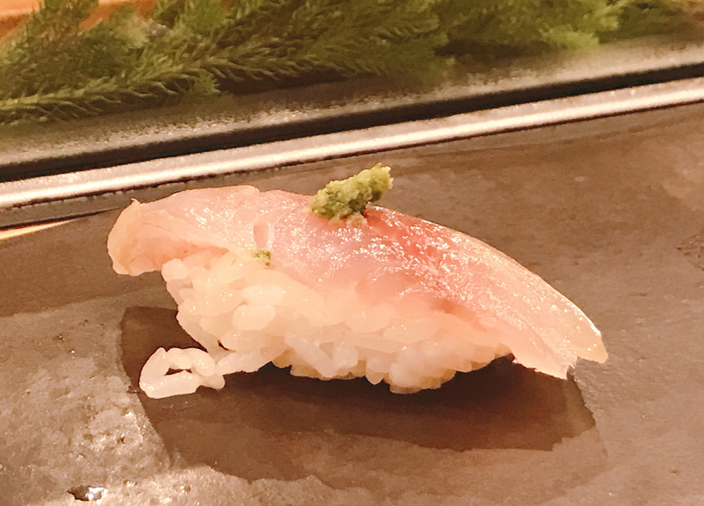 福来寿司のアジ