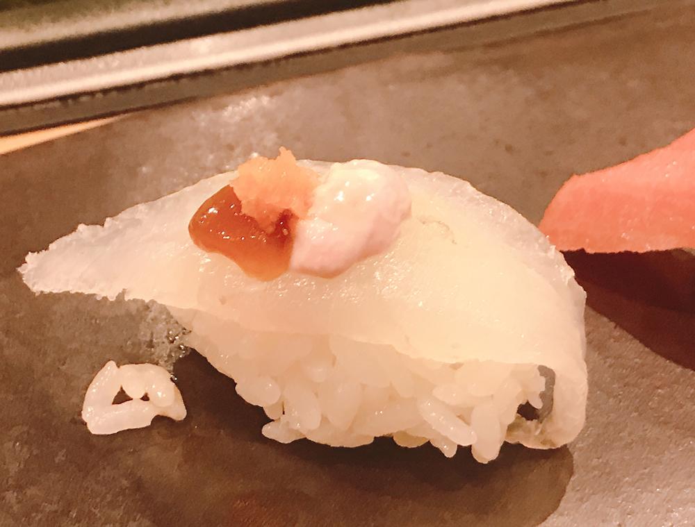 福来寿司のカワハギ