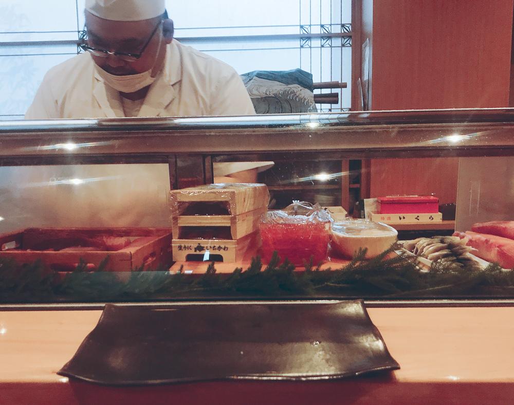 福来寿司の大将