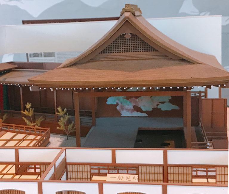 能舞台の模型