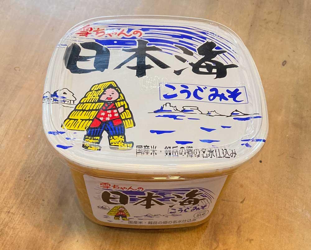 カップ入り日本海味噌
