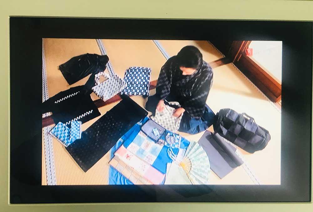 茂山逸平さんの市松模様コレクション