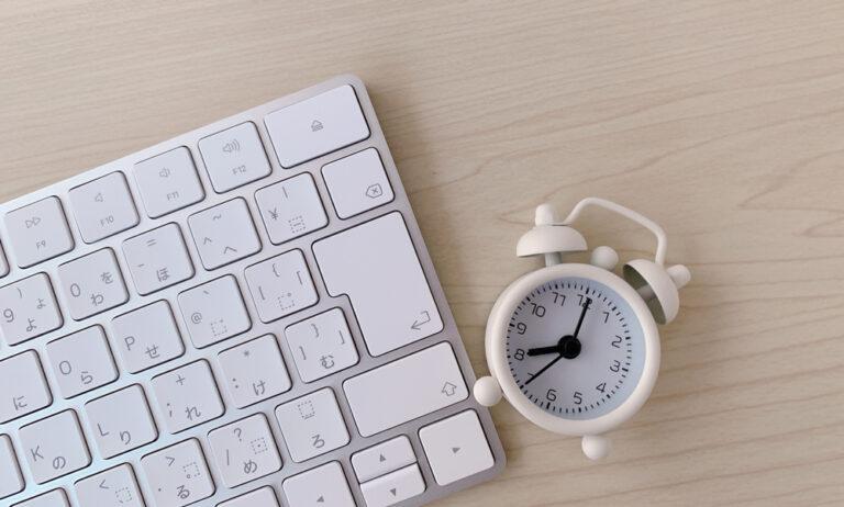 clock-keyboard